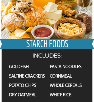 Some Starch Foods are Bad for Your Teeth